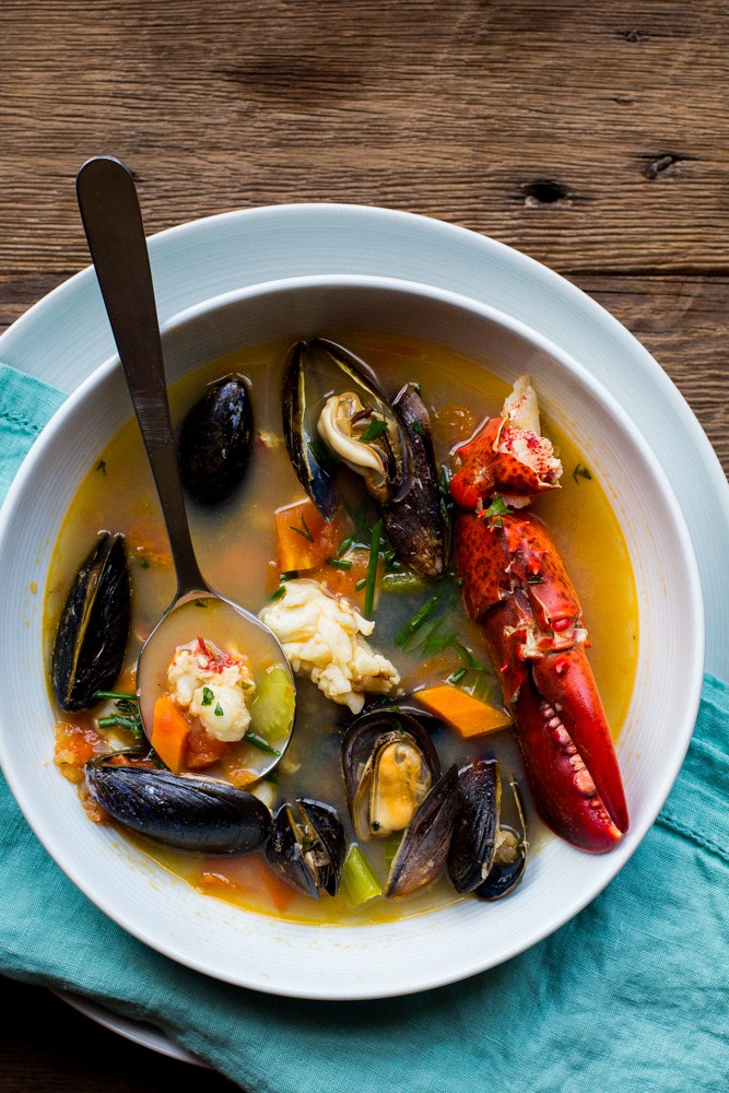 Lobster And Mussel Bouillabaisse The Domestic Man