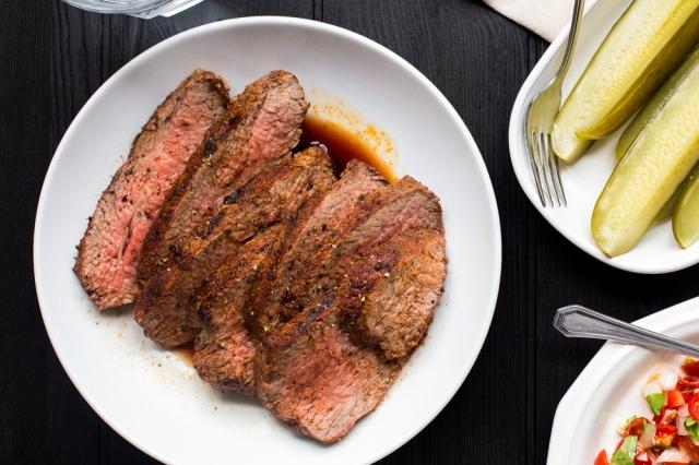 sauces steak vegetables january 28 2014 santa maria tri tip steak