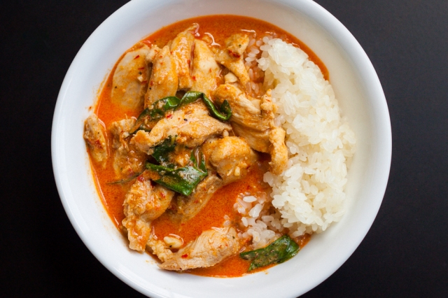 Chicken Panang Curry | The Domestic Man