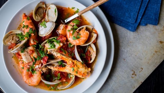 San Francisco Seafood Soup