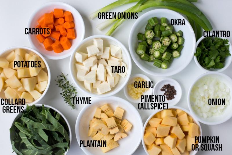 Rasta Food List