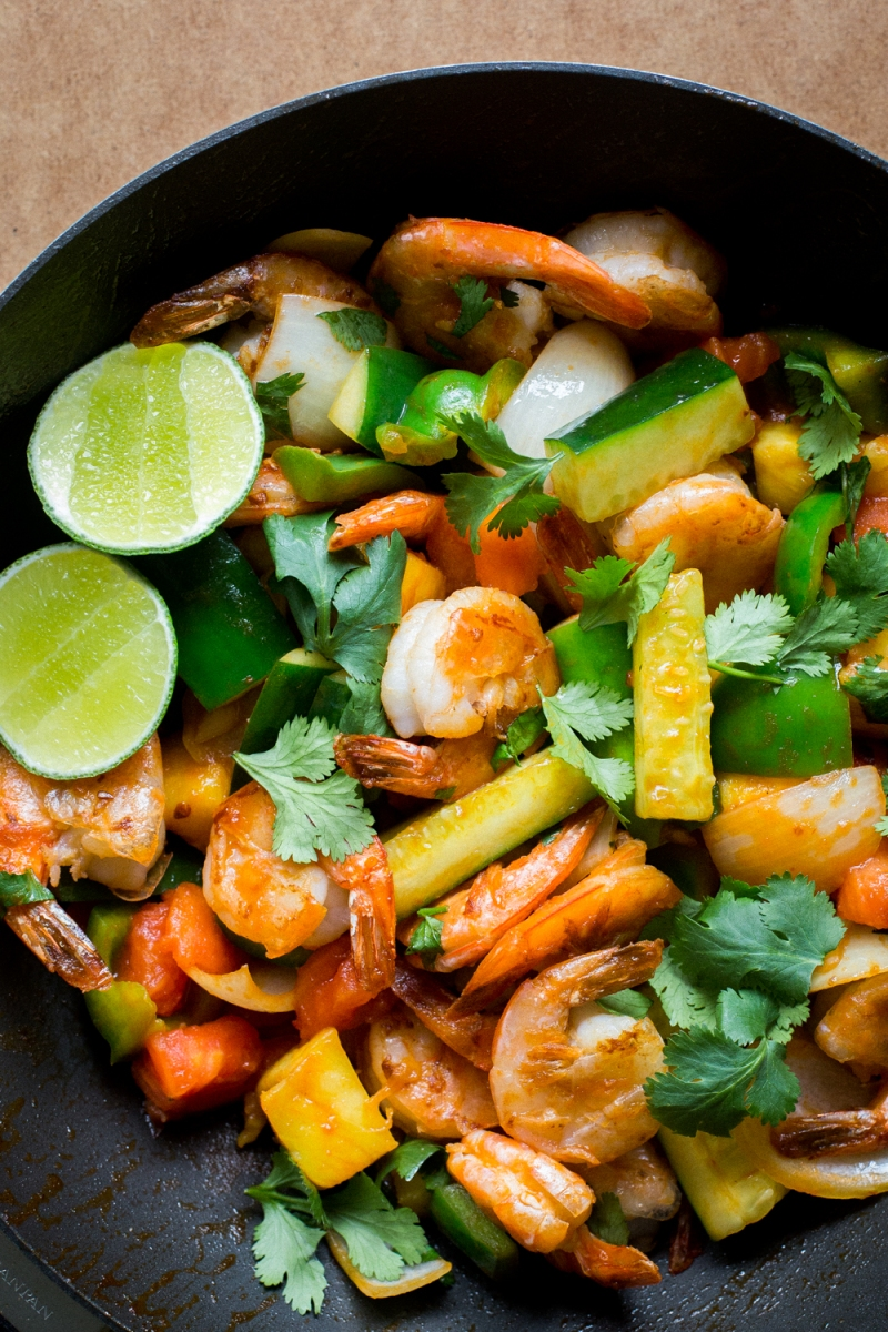 Thai Sweet and Sour Stir-Fry with Shrimp