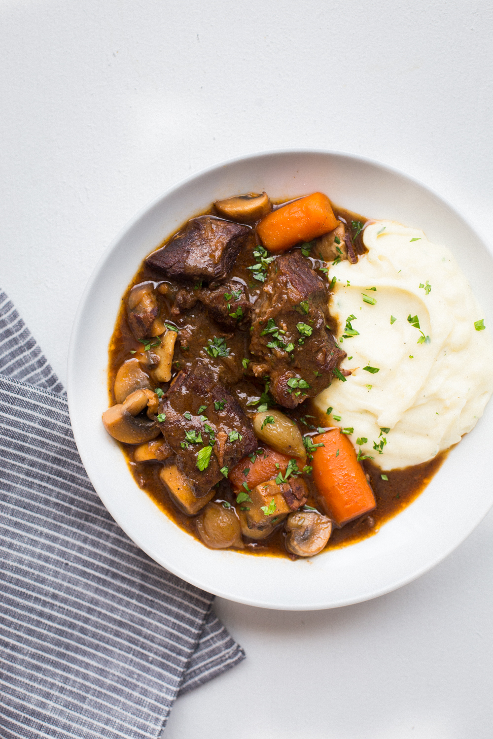 Beef Bourguignon Revisited The Domestic Man