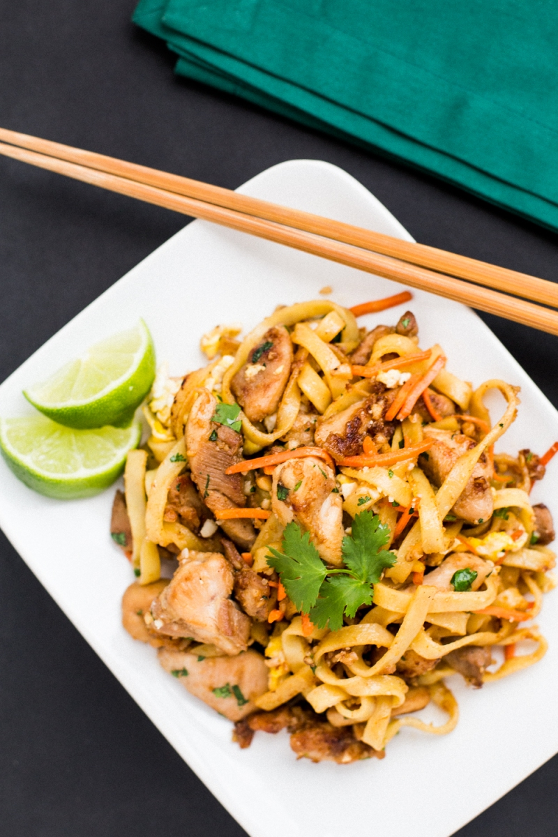 Gluten free grain free chicken pad thai the domestic man its somewhat surprising but pad thai despite being one of thailands national dishes is from vietnam originally influenced by chinese cuisine forumfinder Images