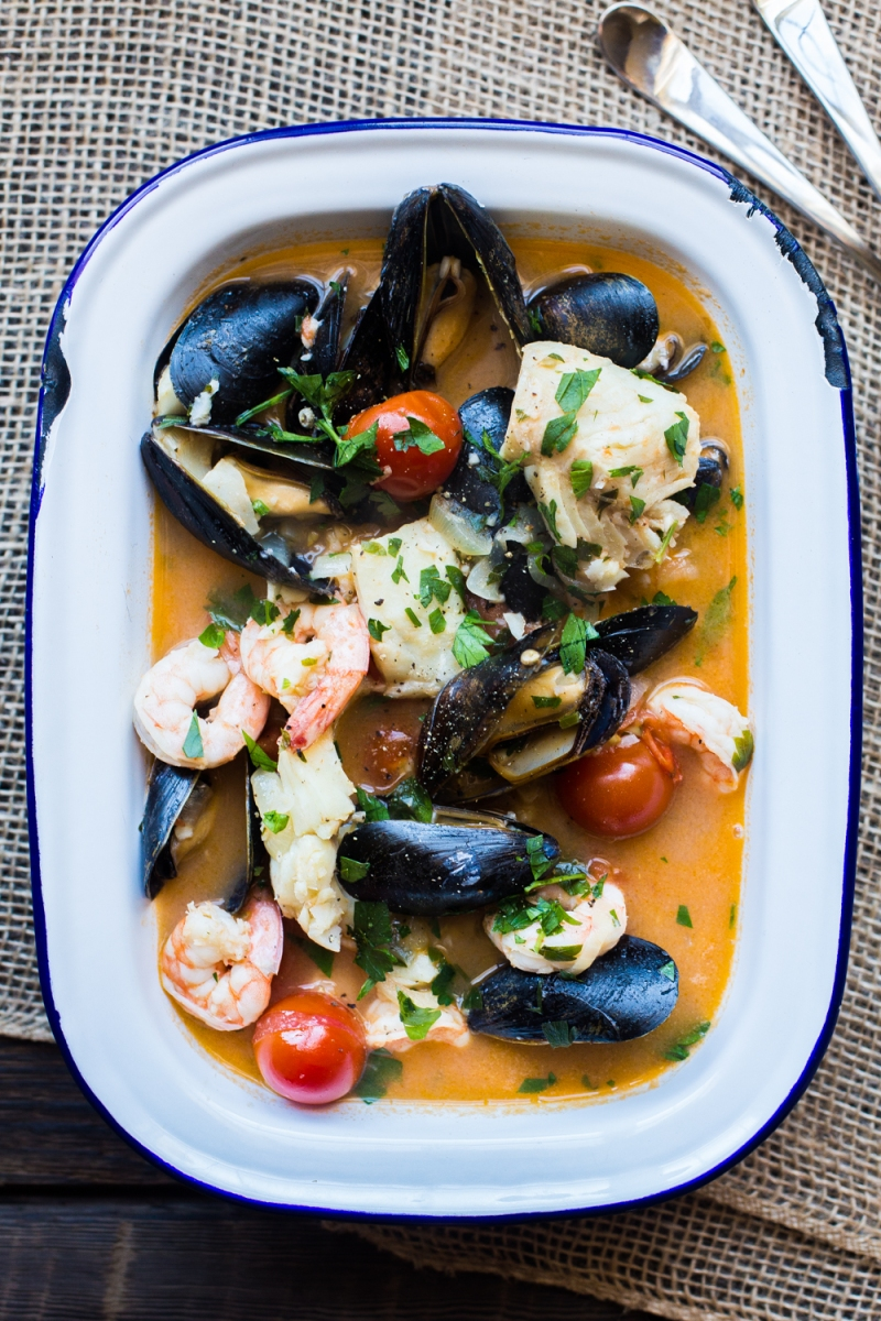Brudet croatian seafood stew the domestic man brudet is a fish stew from croatia similar to an italian brodetto or greek bourdeto all three are based on the venetian word brodeto broth forumfinder Image collections