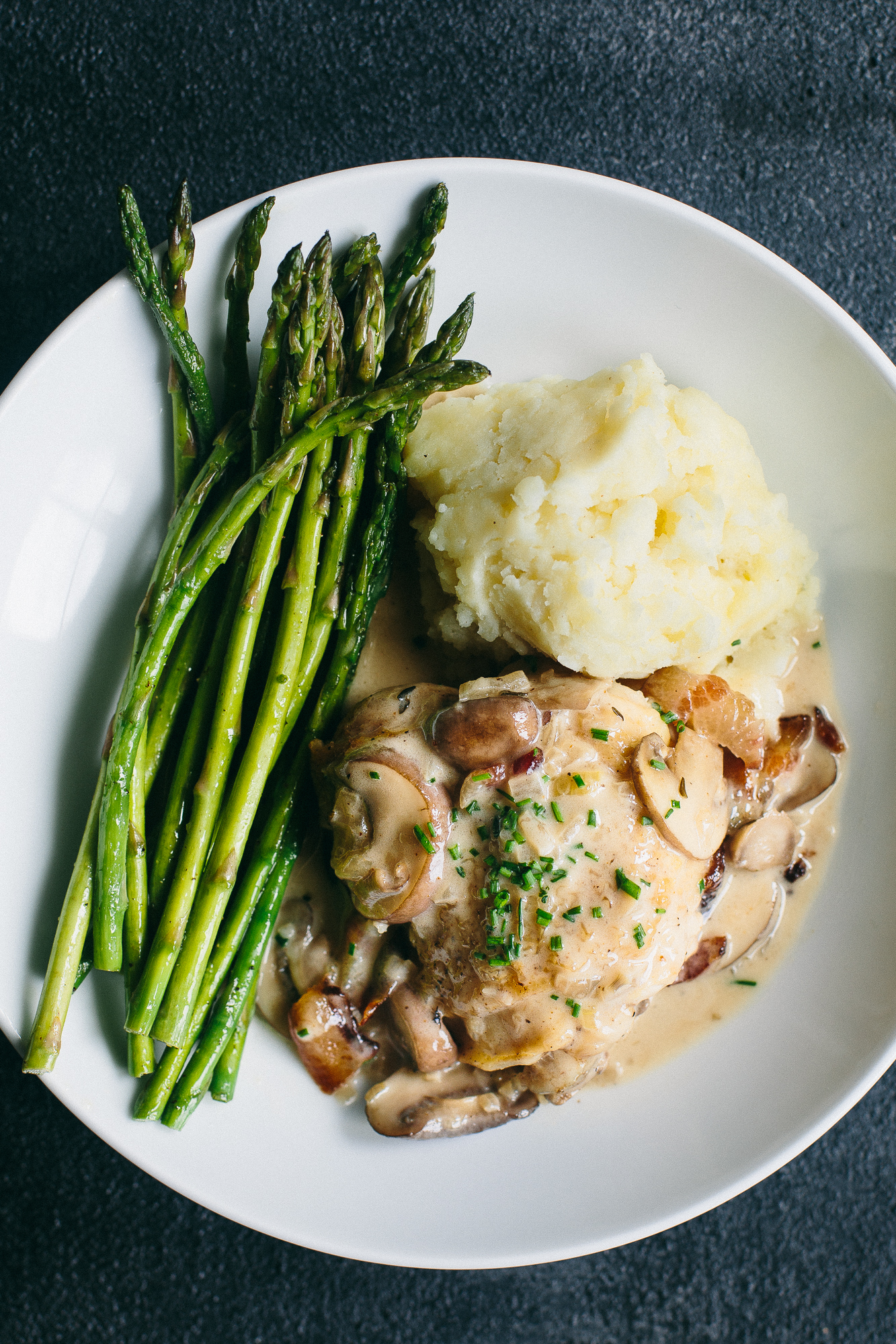 Chicken in Champagne Sauce | The Domestic Man