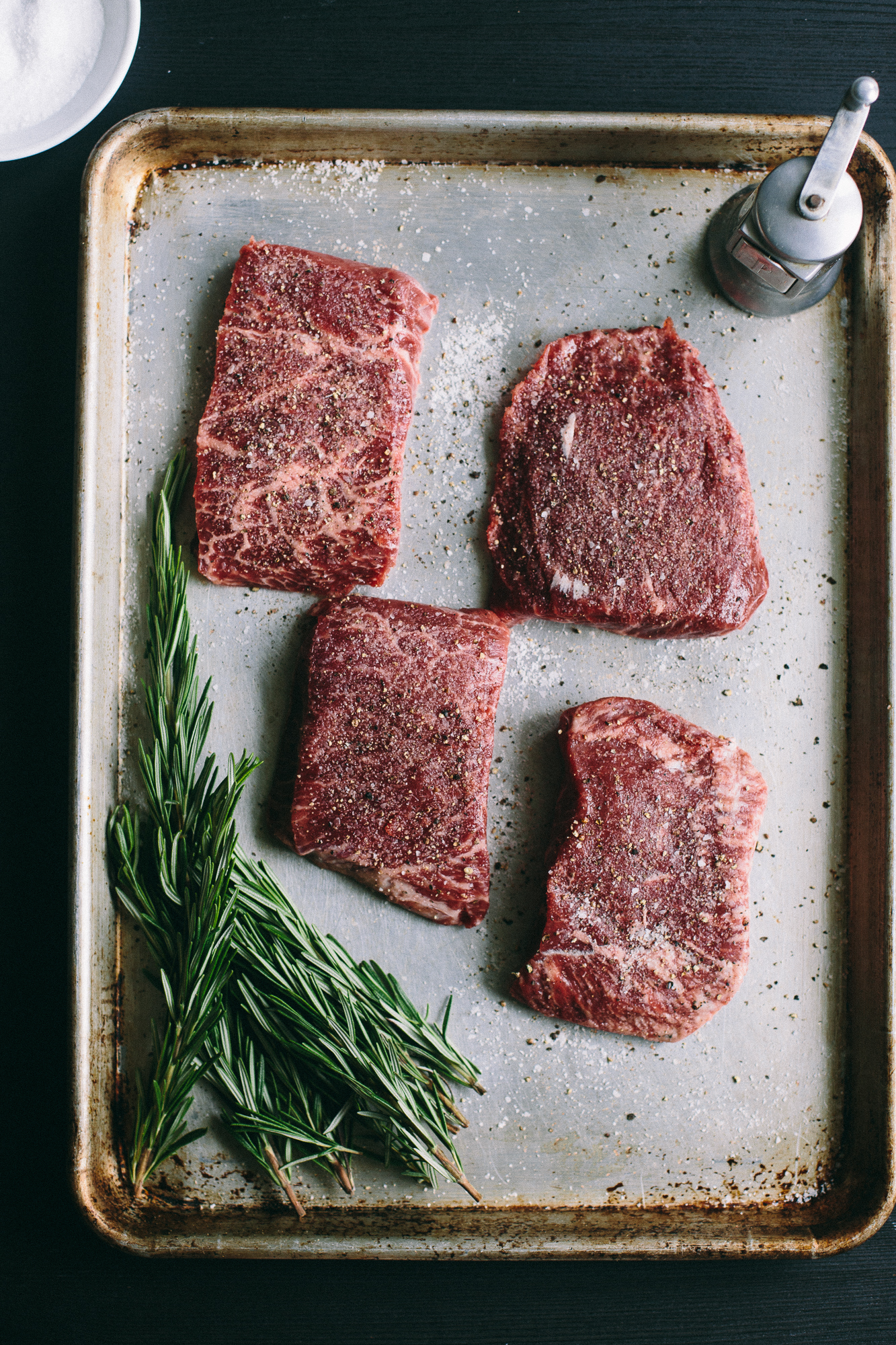 Sous Vide Flat Iron Steak | The Domestic Man