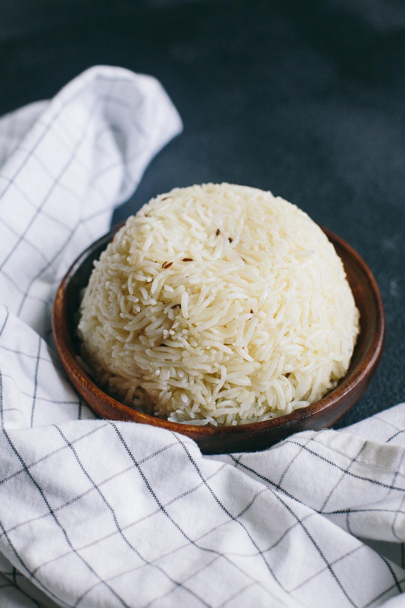 Pressure Cooker (Instant Pot) Basmati Rice