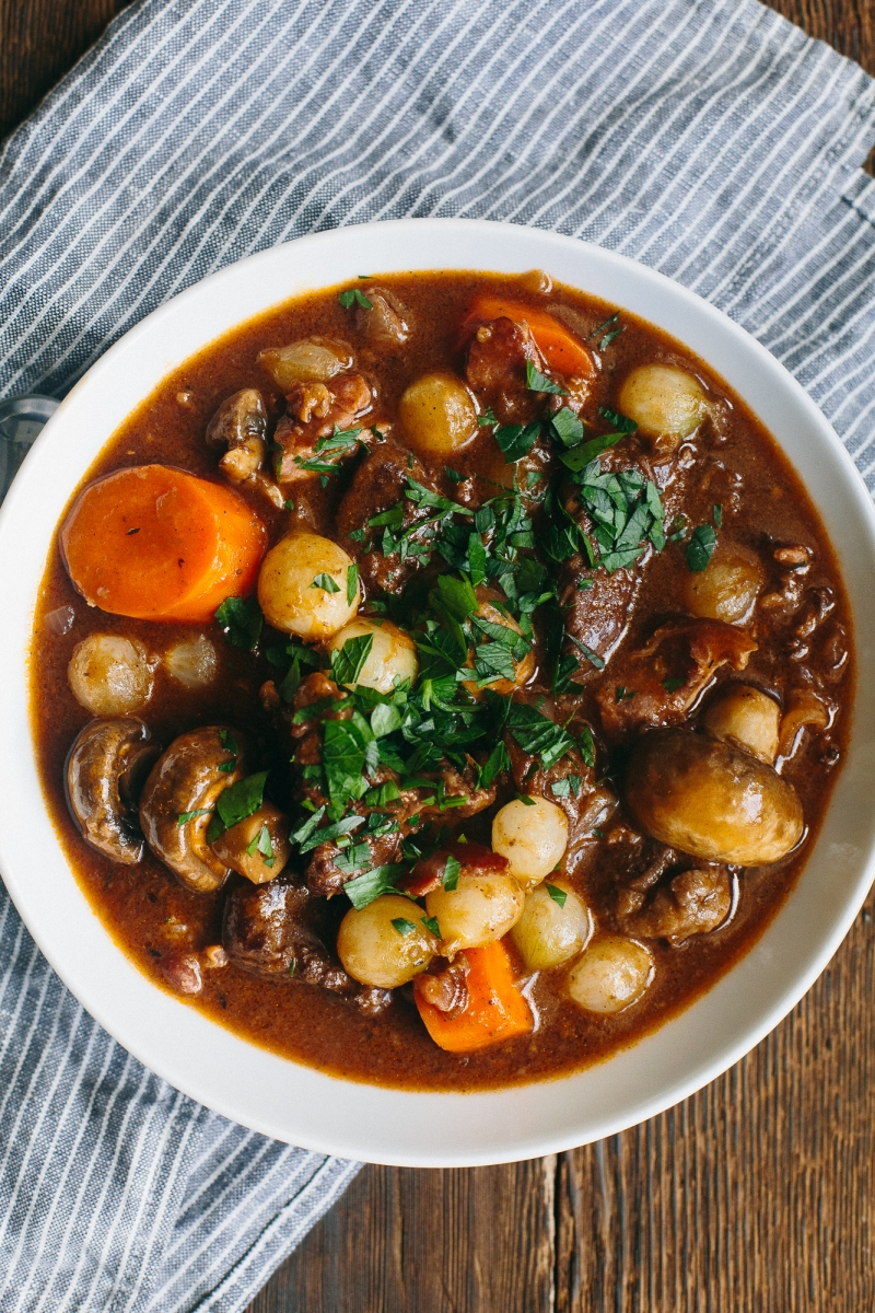 Boeuf Bourguignon | The Domestic Man