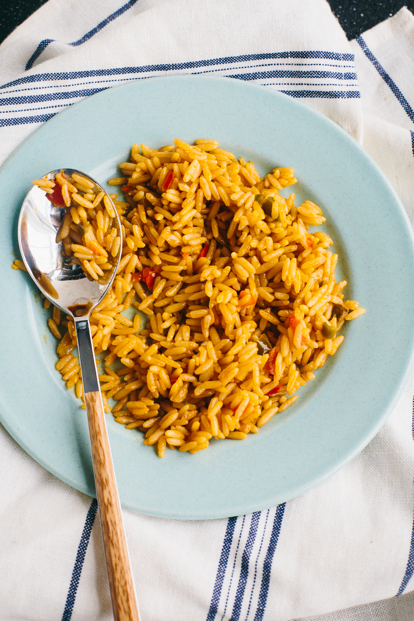 Yellow (Spanish) Rice | The Domestic Man