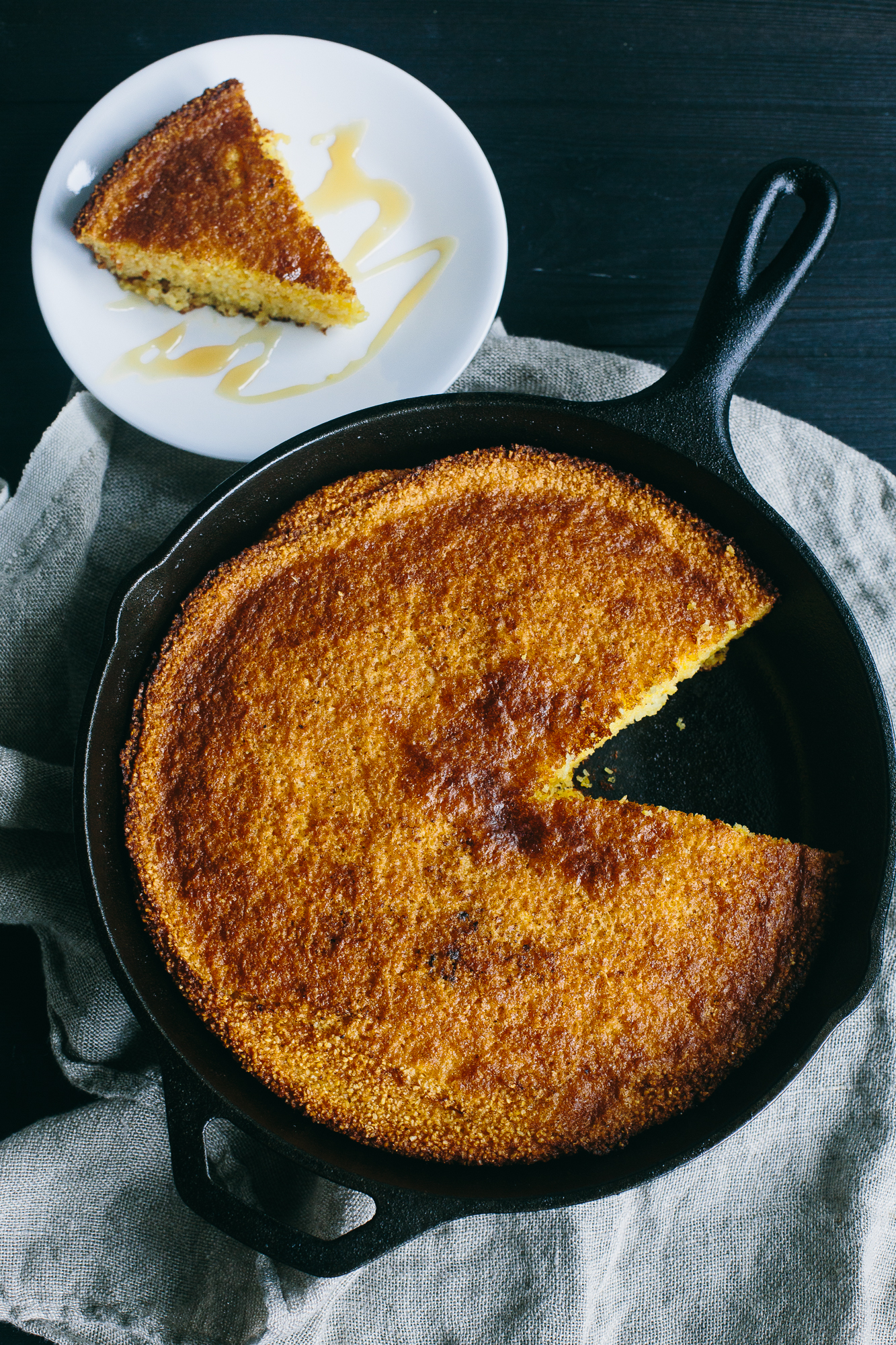 Gluten-Free Southern Skillet Cornbread | The Domestic Man