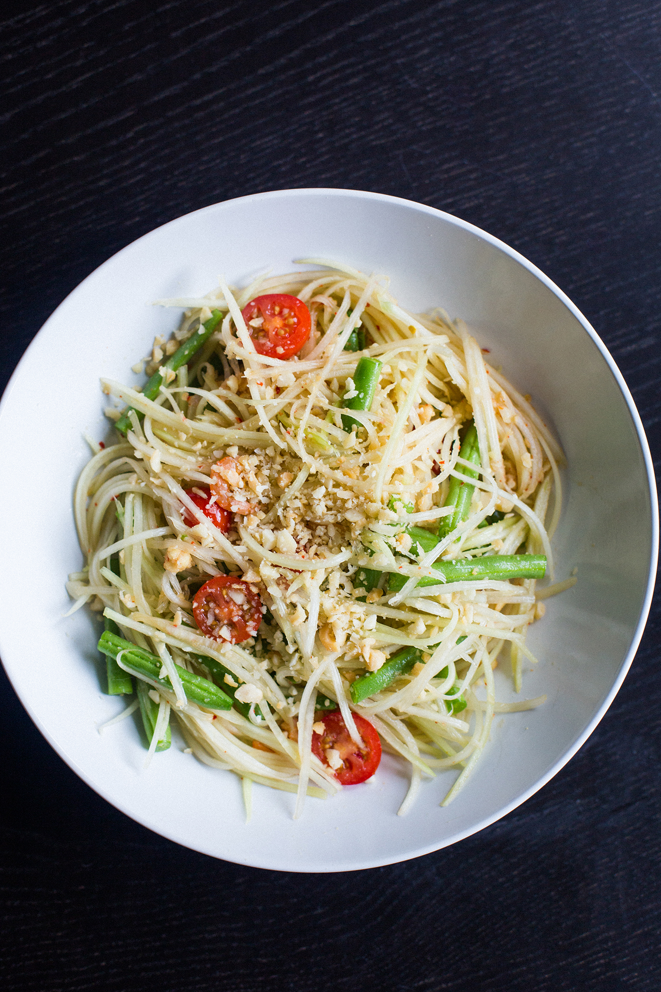 Green Papaya Salad | The Domestic Man