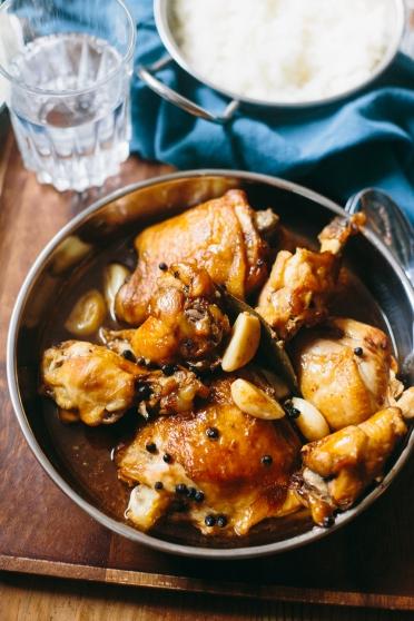 Chicken Adobo Filipino Stewed Chicken The Domestic Man